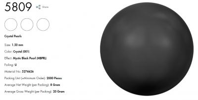 施華洛世奇-珍珠5809(335)
