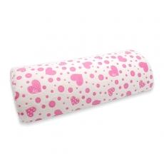 絨布手枕-半圓