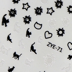 貼紙-U+ZYE-71