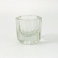 水晶溶劑杯-透明六角(小)